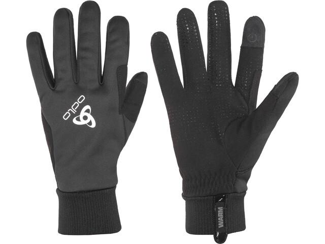 Odlo Windproof Warm Gloves black